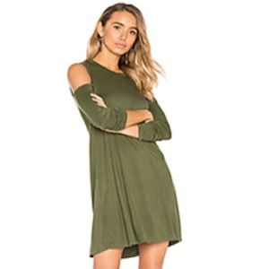 Michael Lauren NWT Military Green XS Tunic Dress